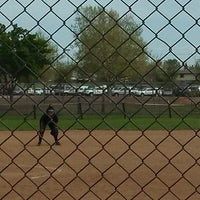 Photo taken at Freedom Park - DF Softball by Lisa on 3/30/2013
