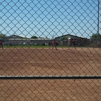 Photo taken at Freedom Park - DF Softball by Lisa on 4/21/2013