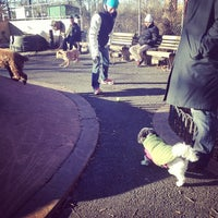 Photo taken at Chelsea Waterside Park Dog Run by Erin O. on 11/28/2013