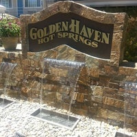 Photo taken at Golden Haven Hot Springs Spa and Resort by Michele M. on 6/28/2013