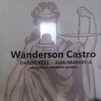 Photo taken at Wanderson Castro Advocacia by Wanderson C. on 7/12/2013