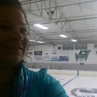 Photo taken at Kettle Moraine Ice Center by Tracy B. on 8/15/2013