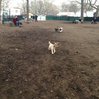Photo taken at McCarren Dog Park by Andrew M. on 3/16/2013