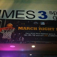 Photo taken at Times 3 Sports Grill by Jaime B. on 3/31/2013