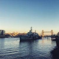 Photo taken at London Bridge City Pier by Valery T. on 1/22/2017