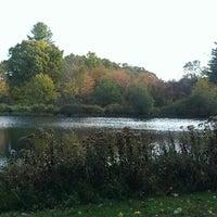 Photo taken at Pond by Scootch on 10/12/2013
