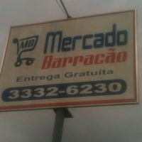 Photo taken at Mercado Barracão by Mateus L. on 7/24/2013