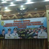 Photo taken at Kantor Walikota Banjarmasin - Pemkot Banjarmasin by Dwianto S. on 10/16/2014