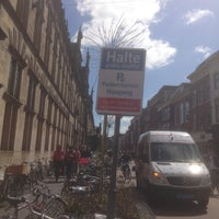 Photo taken at Halte Breestraat by Chris V. on 4/20/2013