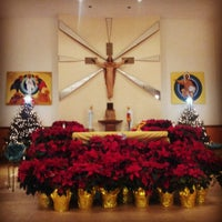Photo taken at St. Theresa Church by Roy H. on 12/25/2013