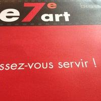 Photo taken at Le 7ème Art by Roman R. on 11/19/2013