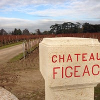 Photo taken at Château Figeac by Roman R. on 12/6/2013