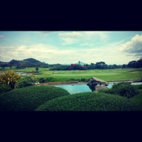 Photo taken at Ayala Greenfield Clubhouse by Jr O. on 6/15/2014