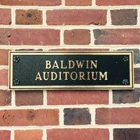 Photo taken at Baldwin Auditorium by Ilse O. on 2/1/2015