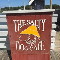 Photo taken at Salty Dog Cafe-Waterside Deck by Ilse O. on 10/4/2017