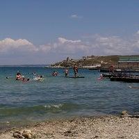 Photo taken at Пляж «Песочный» / Pesochniy Beach by Bypasser on 7/16/2013