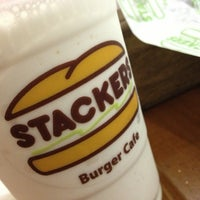 Photo taken at Stackers Burger Café by Alvin S. on 7/21/2013