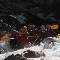 Photo taken at Bovec Rafting Team by Bovec Rafting Team on 4/27/2014