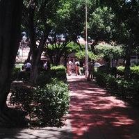 Photo taken at Parque la virgen by Juan R. on 7/12/2013