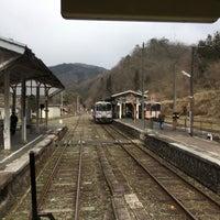 Photo taken at Bingo-Ochiai Station by コタケムンパス on 4/2/2017