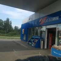 Photo taken at Газпромнефть АЗС № 25 by Maximus on 7/25/2016