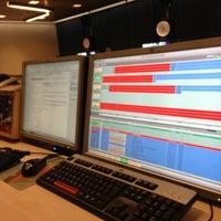 Photo taken at Multi Channel Playout-Eindregie Ned.1/2/3 by Jeroen P. on 1/24/2013
