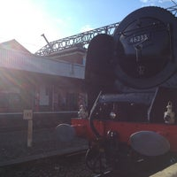 Photo taken at Stockport Railway Station (SPT) by Josh R. on 7/26/2013