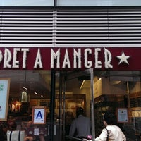 Photo taken at Pret A Manger by Mau R. on 7/2/2013