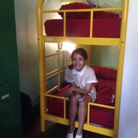 Photo taken at Burrow Hostel by Auer Y. on 5/5/2016