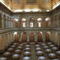 Photo taken at Palais Brongniart (Ancienne Bourse de Paris) by Charlotte S. on 2/18/2013