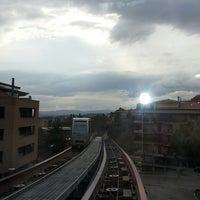Photo taken at Stazione Minimetrò Case Bruciate by Liliia A. on 3/8/2014