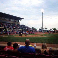 Photo taken at Whitaker Bank Ballpark by Bonnie N. on 6/29/2014