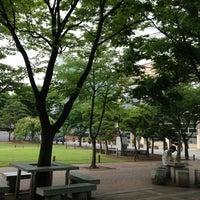 Photo taken at Soongsil University by kim y. on 6/22/2013