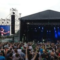 Снимок сделан в Малая спортивная арена «Петровский» пользователем Sergey M. 6/29/2013