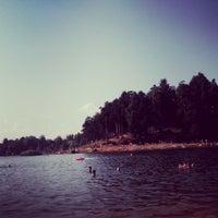 Снимок сделан в Среднее Суздальское озеро пользователем Sveta 7/3/2013
