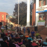 Photo taken at Music On The Square by Tom B. on 8/9/2013
