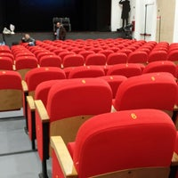Photo taken at Teatro San Luigi Guanella by Alessandro G. on 2/21/2014