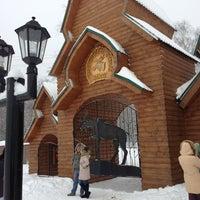 Photo taken at Костромская лосеферма by Иван Р. on 1/4/2013