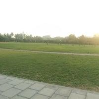 Photo taken at Hakeem Saeed Park by Faiza A. on 1/3/2014