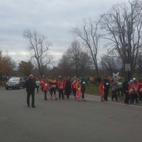 Photo taken at Delaware Park Playground by LaVaughn J. on 11/10/2013