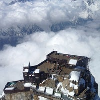 Photo taken at L'Aiguille du Midi (3842m) by Dinos G. on 5/7/2013