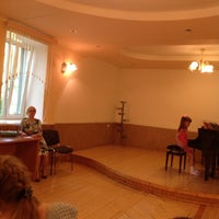 Photo taken at ДМШ 74 by Izabel A. on 5/20/2014