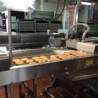Photo taken at Krispy Kreme Doughnuts by Jeremy B. on 6/15/2013