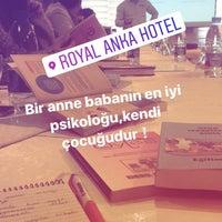 5/19/2017 tarihinde Rana G.ziyaretçi tarafından Royal Anka Hotel'de çekilen fotoğraf