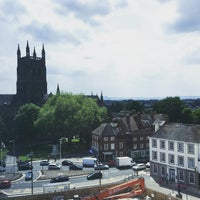 Photo taken at Worcester Cathedral Tower by Thelma M. on 5/27/2016