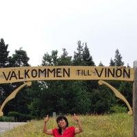 Photo taken at Vinön Beach by Thelma M. on 7/25/2015