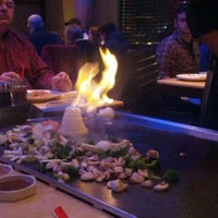 Photo taken at Kobe Ninja House Japanese Grill by Zachery S. on 11/25/2012