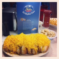 Photo taken at Skyline Chili by Michael O. on 10/19/2012