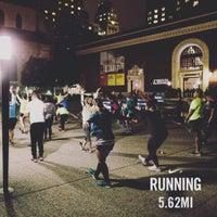 Photo taken at Niketown SF Run Club by Krystal R. on 12/10/2015