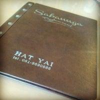 Photo taken at Saban-Nga Restaurant by wongseng l. on 8/11/2013